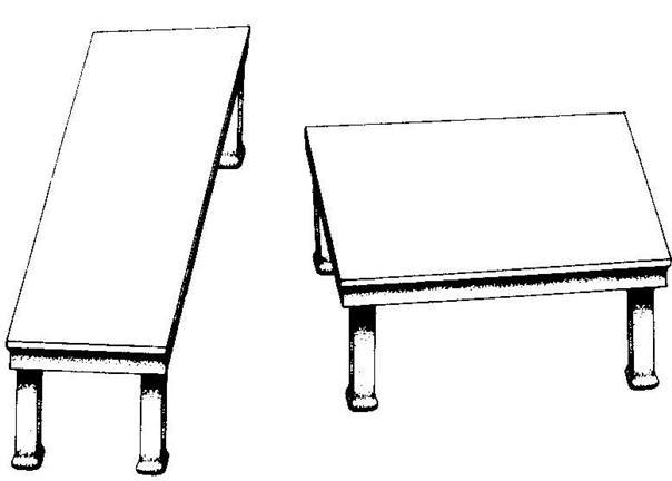 illusion tables